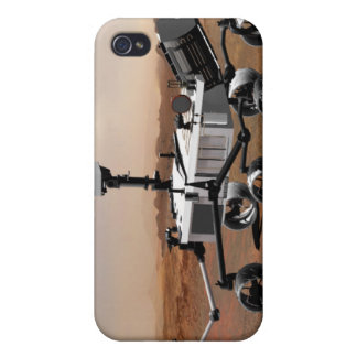 Laboratorio de ciencia de Marte 2 iPhone 4 Carcasa
