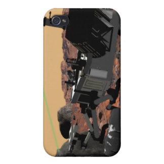 Laboratorio de ciencia de Marte 3 iPhone 4 Cárcasa