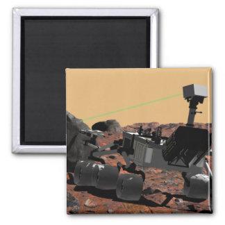 Laboratorio de ciencia de Marte 3 Imán Para Frigorifico