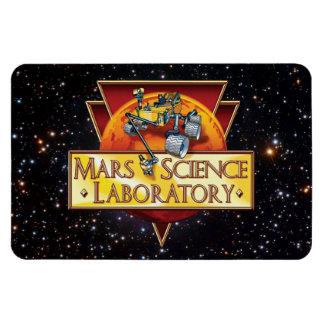 Laboratorio de ciencia de Marte Imanes