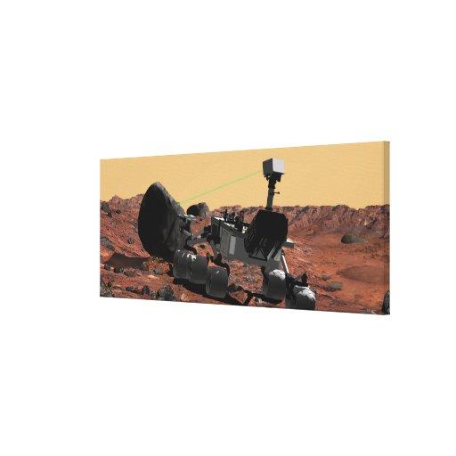 Laboratorio de ciencia de Marte Impresiones De Lienzo