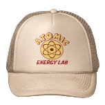 Laboratorio de la energía atómica gorras