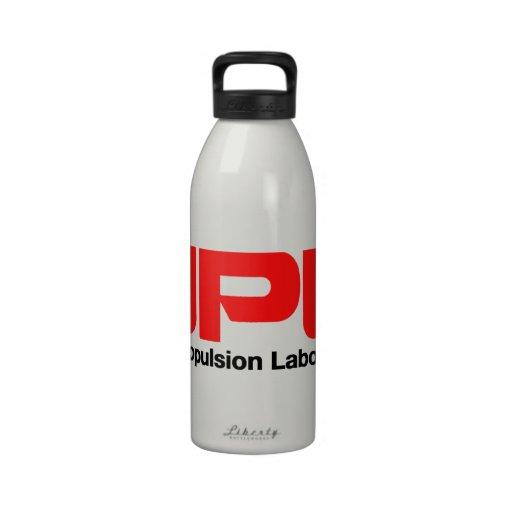 Laboratorio de la propulsión a chorro botallas de agua
