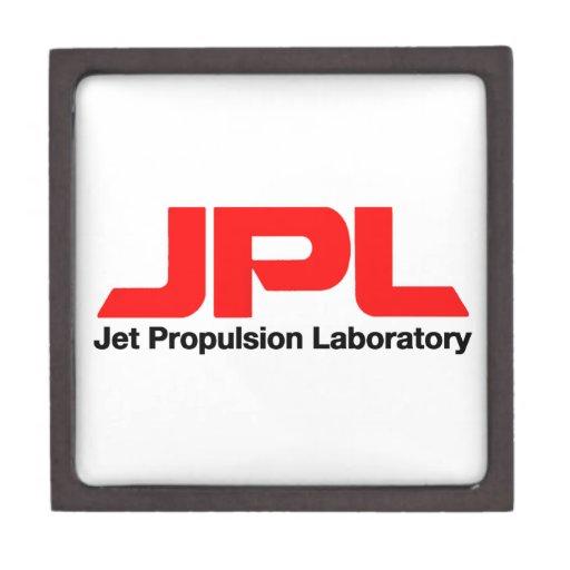 Laboratorio de la propulsión a chorro cajas de recuerdo de calidad