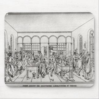 Laboratorio de química de barón Justus von Liebig Alfombrillas De Ratón