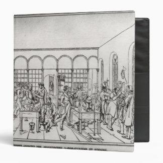 """Laboratorio de química de barón Justus von Liebig Carpeta 1 1/2"""""""