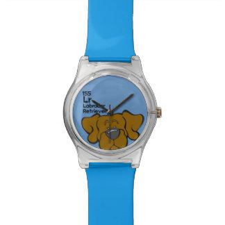 Laboratorio del chocolate - la tabla del perro relojes de pulsera