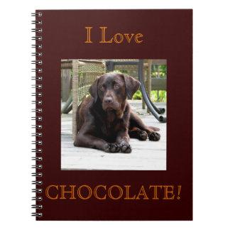 Laboratorio del chocolate libreta espiral