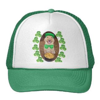 Laboratorio feliz afortunado gorra
