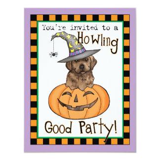 """Laboratorio Halloween del chocolate Invitación 4.25"""" X 5.5"""""""