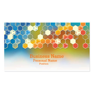 Laboratorio moderno profesional del negocio de la tarjetas de visita