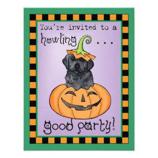 Laboratorio negro de Halloween Comunicados Personalizados