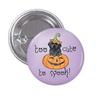 Laboratorio negro de Halloween Pin