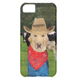 Laboratorio/perro del granjero de lechería carcasa iPhone 5C