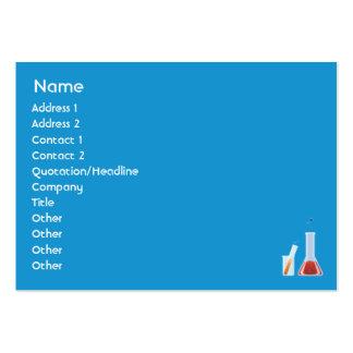 Laboratorio rechoncho plantillas de tarjeta de negocio
