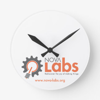 Laboratorios de Nova Reloj De Pared