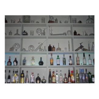 laboratory bar postcard