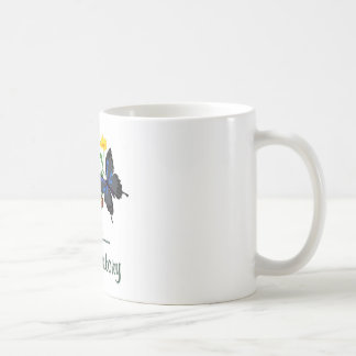 Laboratory Butterflies Classic White Coffee Mug