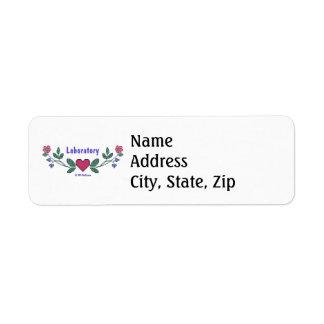 Laboratory CS Print Label