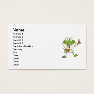 Laboratory Frog Business Card