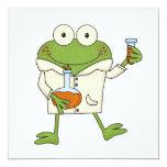 Laboratory Frog Personalized Invitations