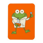 Laboratory Frog Rectangle Magnets
