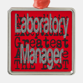 Laboratory Manager Extraordinaire Metal Ornament