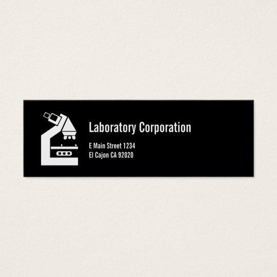 LABORATORY MEDICAL BUSINESS/Profile Card
