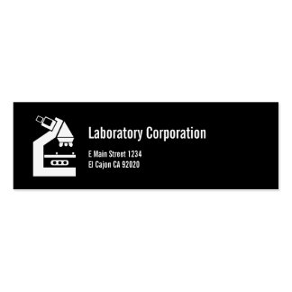 LABORATORY MEDICAL BUSINESS/Profile Card Double-Sided Mini Business Cards (Pack Of 20)