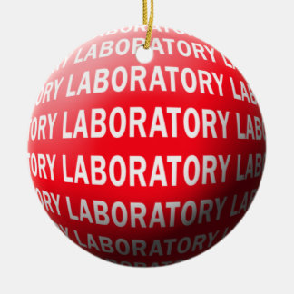 LABORATORY SPHERE CHRISTMAS ORNAMENT