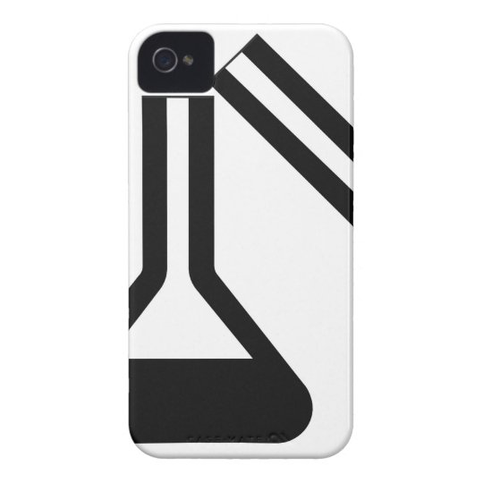 Laboratory symbol against white background Case-Mate iPhone 4 case