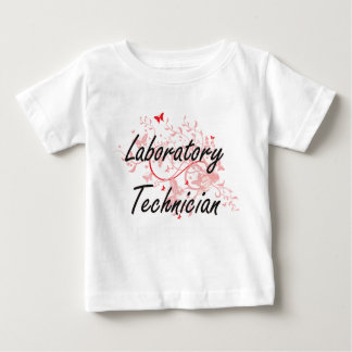 Laboratory Technician Artistic Job Design with But Baby T-Shirt