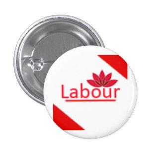 Labour Party Logo Pinback Button