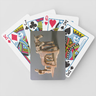Labourer, from the Tomb of Princess Nefertiabet, O Bicycle Poker Cards