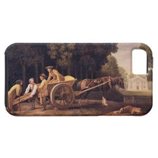 Labourers, 1781 (enamel on biscuit earthe iPhone SE/5/5s case