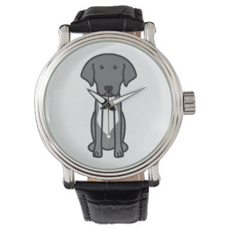 Labradinger Dog Cartoon Wrist Watch