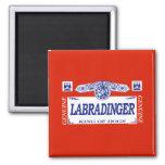Labradinger Refrigerator Magnets