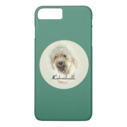 Case-Mate Tough iPhone 7 Plus Case with Labradoodle Phone Cases design