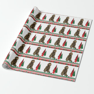 Labradoodle Christmas Wrapping Paper