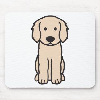 Labradoodle Dog Cartoon Mouse Pad