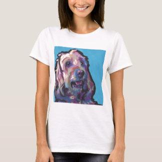 Labradoodle Dog fun bright pop art T-Shirt