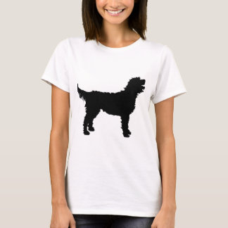 Labradoodle Dog (in black) T-Shirt