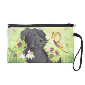 Labradoodle Doodle Dog / Bagettes Bag Wristlets