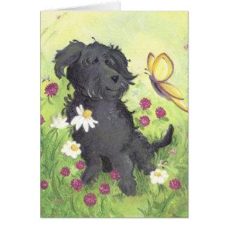 Labradoodle Doodle Dog / Note Card