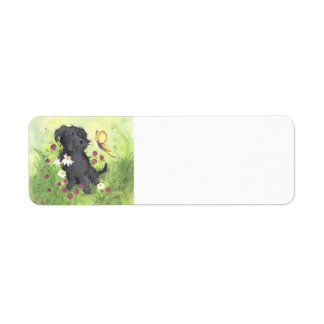 Labradoodle Doodle Dog / Return Address Label