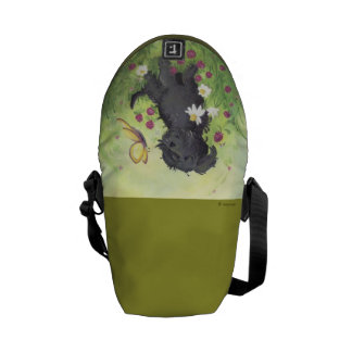 Labradoodle Doodle Dog / Rickshaw Messenger Bag