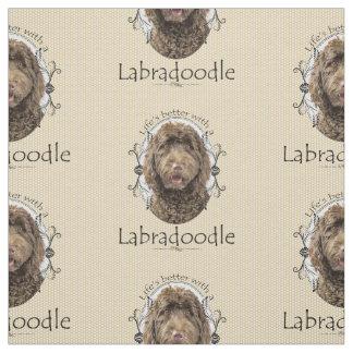 Labradoodle Fabric