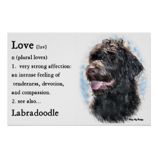 Labradoodle Gifts Art Prints