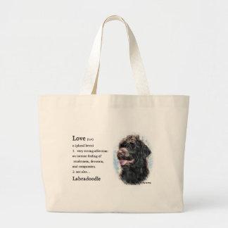 Labradoodle Gifts Large Tote Bag