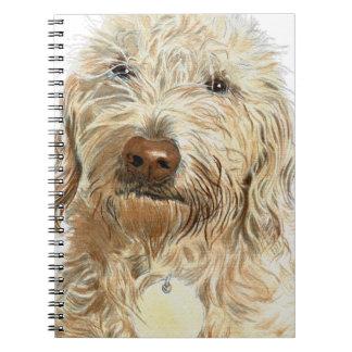 Labradoodle Ginger Notebook
